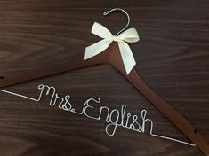 Ships in days Wedding hanger Priority mail option Trendy Wedding, Our Wedding, Wedding Gifts, Rustic Wedding, Wedding Favours, Wedding Things, Destination Wedding, Dream Wedding, Wedding Dress