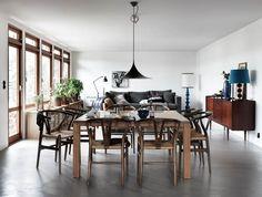 Oracle, Fox, Sunday, Sanctuary, Tina, Hellberg, Minimal, Scandinavian, Interiors, Dining, Room, Artwork