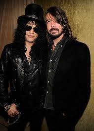Slash e Dave Grohl
