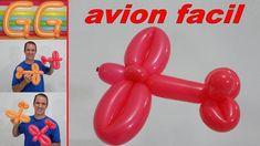 como hacer un avion con globos - globoflexia facil - figuras con globos . how to make a plane with Balloon Hat, Balloon Crafts, One Balloon, Balloon Shapes, Balloon Bouquet, Balloon Decorations, Balloon Sword, Easy Balloon Animals, Ballon Animals