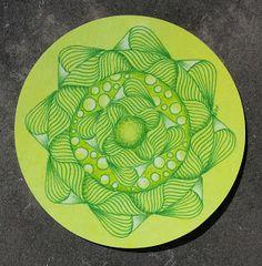 Sue's tangle trips: Zendala Dare 102 - Zen time