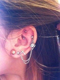 Hot cartilage piercing earrings #cartilage #earrings www.loveitsomuch.com