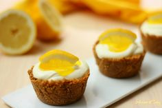 Tortine al limone ( senza cottura e senza gelatina )