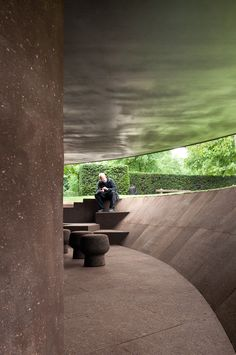 Interior Design Addict: Serpentine Gallery Pavilion 2012 by Herzog & de Meuron and Ai Weiwei Pavilion Architecture, Architecture Office, Sustainable Architecture, Residential Architecture, Contemporary Architecture, Landscape Architecture, Landscape Design, Architecture Design, Contemporary Houses