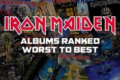 Iron Maiden Albums, Ranked Worst to Best
