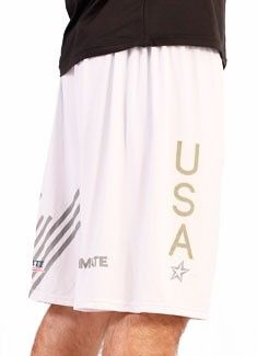 Team USA 2012 - White Hydro Shorts $25 fiveultimate.com