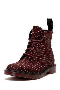 Dr. Martens Munroe Dotted Boot by Dr. Martens on @HauteLook.  These are just amazing.  Definately on my wish list!