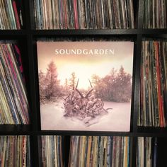 another for the #vinylparty on #instagram #nowspinning #soundgarden #kinganimal #vinyl #recordcollection #joy 2012