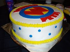 My nephew's first birthday! He loves wonder pets, so I did the logo. It's a vanilla and chocolate cake with buttercream icing! Animal Birthday, Girl Birthday, Birthday Parties, Birthday Cake, Wonder Pets, Nick Jr, Buttercream Icing, First Birthdays, Sweet Treats