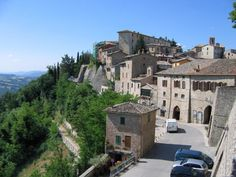 Montone Umbria Italy - A charming little town that is dangerous but lots of fun to get to by car.  Lots of quaint but excellent restaurants to try.