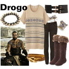 """Drogo"" by fandom-wardrobes on Polyvore"