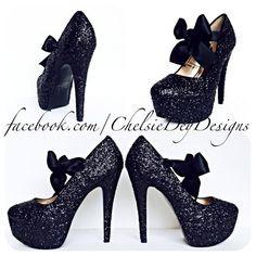 Focus on what you do best SHOP Glitter High Heel.... Check it out.  http://uniqbrands.com/products/glitter-high-heels-black-pumps-sparkly-platform-pumps-black-satin-bows-after-dark?utm_campaign=social_autopilot&utm_source=pin&utm_medium=pin