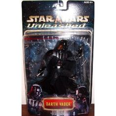 "DARTH VADER 6"" Action Figure STAR WARS UNLEASHED Series 11 Hasbro $17.77"