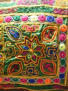 Afghan Tribal Embroidery