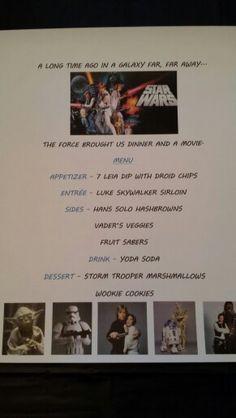 Disney Dinner Night #86 - Star Wars
