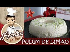 PUDIM DE LIMÃO ( Receita do canal RECEITAS DE PAI )  com CozinhandoComNane :) - YouTube