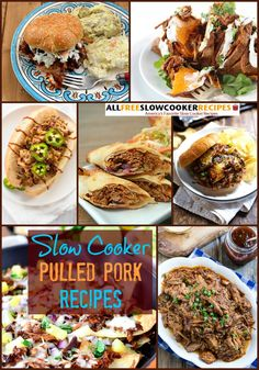 How to Make Pulled Pork: 13 Slow Cooker Pulled Pork Recipes + Bonus Recipes | These recipes for pork are so good. They're great for potlucks and picnics!