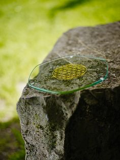 The energy plate is a hand-polished glass coaster (22 cm diameter) with the Flower of Life symbol emblazoned into the glass. The intention of these pieces is to energetically enhance and revitalize whatever is placed on it. The items made of glass are not intended for use with hot dishes.   #naturesdesign #floweroflife #energy #revitalize #energyplate #enhance #glasscoaster #coaster