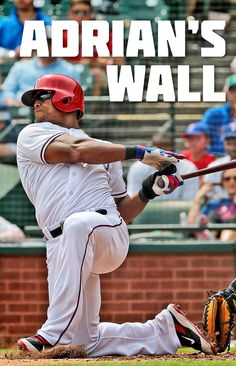 """Adrian Beltre Sports Illustrated article - """"Adrian's Wall"""" from the 2016 MLB…"""