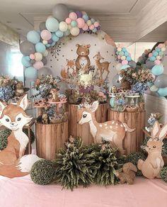 Girl Birthday Decorations, Kids Birthday Themes, 1st Birthday Girls, Balloon Decorations, Baby Shower Decorations, Baby Shower Balloons, Birthday Balloons, Baby Girl Shower Themes, Shower Bebe