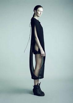 Fragile Fetus collection by Danish Fashion Designer Tanne Vinter