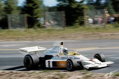 Peter Revson, McLaren-Ford, #8, (RET-accident), Belgian Grand Prix was held at Zolder on May 20, 1973.