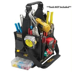 """CLC 1526 8"""" Electrical & Maintenance Tool Carrier"""