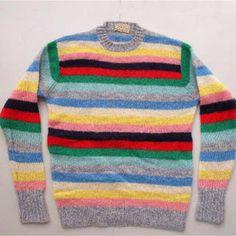 「マルチボーダー セーター」の画像検索結果