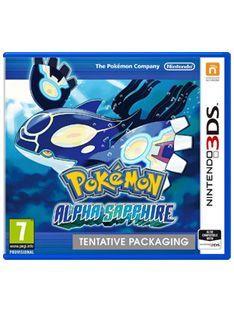 Nintendo Pokemon Alpha Sapphire on Nintendo 3DS Pokeacute