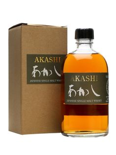 Akashi Single Malt Whisky is made at the White Oak distillery in the Hyogo prefecture. Producing using lightly peated barley and aged in three different types of cask, this is the brand's flagship ...