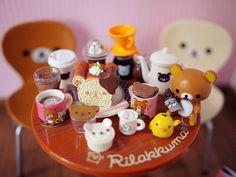 (・ᴥ・)Mini everything! - I need this Rilakkuma Re-ment set!! #rilakkuma #rement #miniature #cute