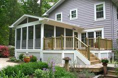 possible screen porch design.