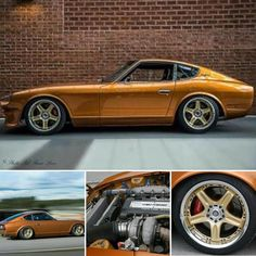 Here is @bastian__heggset and his 500hp #sr20 swapped #datsun #series1 #240z. Sitting on @volk_racing #GT-C. Daaaaamn. Tag a friend. What's…