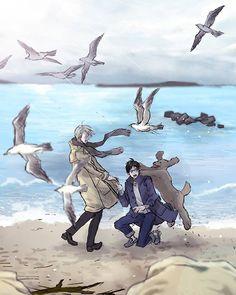 This is too cute! And Yuuri looks like he's proposing to Viktor too! :D Creds to the artist _yukiiyuki_