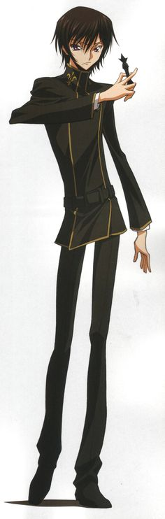 """""""If the king doesn't lead, how can he expect his subordinates to follow?"""" - Lelouch Lamperouge [Code Geass]"""