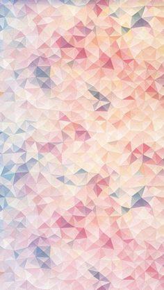 Pink - Geometric - Wallpaper -
