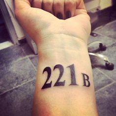 New ink :) #ink #inked #tattoo #221b #literarytattoos #instamood