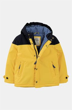 Mini Boden Fleece Lined Jacket (Little Boys & Big Boys) available at #Nordstrom
