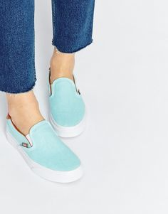 Image 1 ofVans Slip on 59 Washed High Top Trainers
