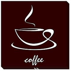 @Overstock - Title: Cup of CoffeeProduct type: Gallery-wrapped canvas artImage dimensions: 23 inches high x 23 inches widehttp://www.overstock.com/Home-Garden/Cup-of-Coffee-Gallery-wrapped-Canvas-Art/5647447/product.html?CID=214117 $70.99
