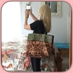 """🐯3X HP 12/7 NWT Black Rhinestone Suede Studd Bag 🐯💛🎉3X Host Pick! 9/23/16! Best in Bags Party! 12/7/15! 9/23/16! Best in bags party!  """"Work Week Chic Party!""""This is an amazing bag! It is suede lined with lots of inside pockets! The studs and rhinestones are so pretty! Very nicely made! 19X16 Chosen by @randi21 please check out her fabulous closet!🐯💛🎉🐯💛🎉🐯💛🎉🐯💛🎉🐯💛🎉🎉🎉🎉🎉🎉Chosen by @scavoner please check out her gorgeous closet! 💛🎉💛🎉😘Chosen by @kasohio Please check out…"""