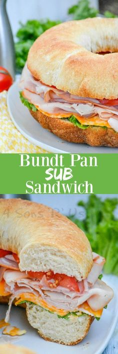 A new spin on a lunch time and party staple, this Cold Cut Bundt Pan Sub Sandwich features your favorite deli meats, sliced cheeses, and your favorite fix ins piled high on freshly baked bunt pan-shaped bread. It's perfect for lunch, an easy dinner, and makes great game day grub.
