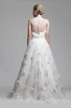 Illusion & Portrait Back Wedding Dresses from Camille Garcia Bridal RTW Bridal Gowns, Wedding Gowns, Bridal Boutique, Event Venues, Gown Designer, Flower Girl Dresses, Long Dresses, One Shoulder Wedding Dress, Ready To Wear