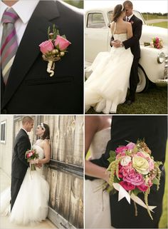 top right pic pink wedding ideas