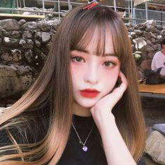 -ˏˋ 💋 ˊˎ- ➷ulzzang ღ girls➶ Pelo Ulzzang, Moda Ulzzang, Ulzzang Korean Girl, Ulzzang Girl Selca, Aesthetic People, Aesthetic Girl, Korean Beauty, Asian Beauty, Ulzzang Makeup