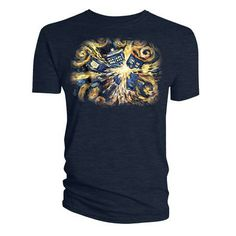 Dr Who Official Licensed Quality T-Shirt DOCTOR WHO VAN GOGH EXPLODING TARDIS TS XL  In stock Old price £14.99 £11.99