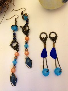 Une+paire+de+boucles+d'oreilles+2+possiblités...+de+MelB+and+the+Bird+sur+DaWanda.com