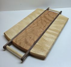 Wooden Cutting and Serving Tray by HartmanWoodworks on Etsy