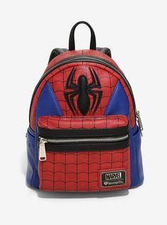 4efde9f9636 Loungefly Marvel Spider-Man Suit Mini Backpack