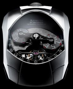 Azimuth Twin Barrel Tourbillon for Fans of Supercars Watches Channel